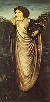 Morgan Le Fay, 1862, burnejones