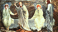 The Morning of the Resurrection, 1882, burnejones