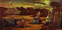 The Passing of Venus, c.1875, burnejones