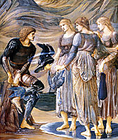 Perseus and the Sea Nymphs, 1877, burnejones