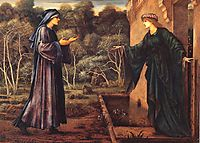 The Pilgrim at the Gate of Idleness, 1893, burnejones