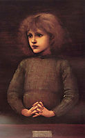 Portrait of a Young Boy, burnejones