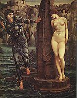 The Rock of Doom, 1888, burnejones