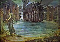 The Sirens, c.1875, burnejones