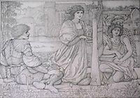 Song of Love, burnejones