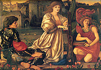 Song of Love, 1877, burnejones