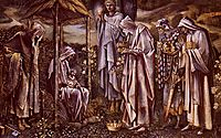 The Star Of Bethlehem, burnejones