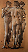 The Three Graces, burnejones