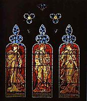 Three Trumpeting Angels, 1869, burnejones