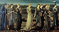 The Wedding of Psyche, 1895, burnejones