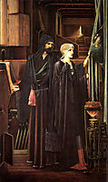 The Wizard, burnejones