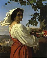 The Chiarrucia, 1848, cabanel