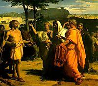 Cincinnatus Receiving Deputies of the Senate, cabanel