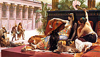 Cleopatra Testing Poisons on Those Condemned to Death, cabanel