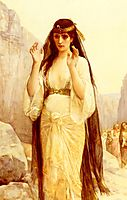 The Daughter of Jephthah, 1879, cabanel