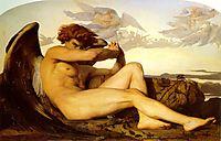 Fallen Angel, 1868, cabanel