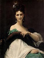 La Comtesse de Keller, 1873, cabanel