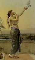 Love Messenger, 1883, cabanel