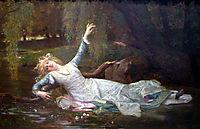 Ophelia, 1883, cabanel