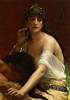Samson and Delilah, 1878, cabanel