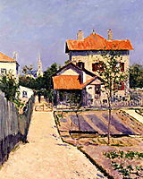 The Artist-s House at Yerres, c.1882, caillebotte