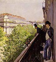 Balcony, 1880, caillebotte
