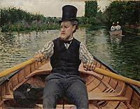 Boating, 1877, caillebotte
