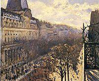 Boulevard des Italiens, c.1880, caillebotte