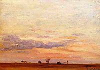 The Briard Plain, c.1878, caillebotte