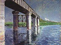 The Bridge at Argenteuil, c.1887, caillebotte