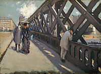The Bridge of Europe, 1876, caillebotte