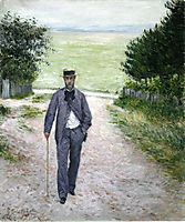 By the Sea, c.1894, caillebotte