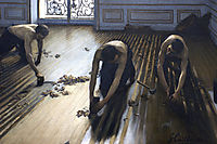 The floor scrapers, 1875, caillebotte