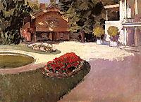 Garden at Yerres, c.1876, caillebotte
