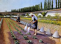Gardeners, 1875-1877, caillebotte