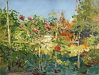 Garten in Trouville, 1882, caillebotte
