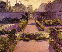 The Kitchen Garden, Yerres, c.1877, caillebotte