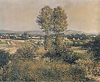 Landscape at Argenteuil, 1889, caillebotte