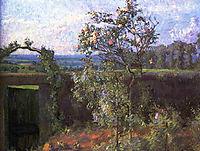 Landscape near Yerres, c.1877, caillebotte
