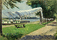 Laundry Drying, 1892, caillebotte