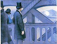 Le Pont de l-Europe, 1877, caillebotte