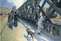Le Pont de L-Europe, c.1882, caillebotte