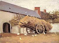 Loaded Haycart, c.1878, caillebotte