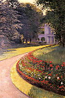 The Park at Yerres, 1877, caillebotte
