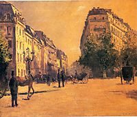 The Perpiniere Barracks, 1878, caillebotte