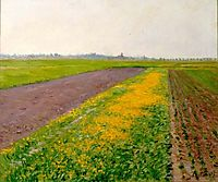 Plain of Gennevilliers, caillebotte
