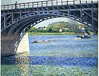Pont d-Argenteuil, 1885, caillebotte