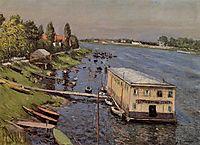 The Pontoon at Argenteuil, 1887, caillebotte