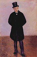 Portrait of Jean Daurelle, 1887, caillebotte