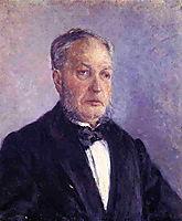 Portrait of Jean Daurelle, c.1885, caillebotte
